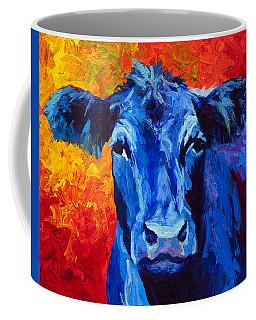Blue Cow II Coffee Mug