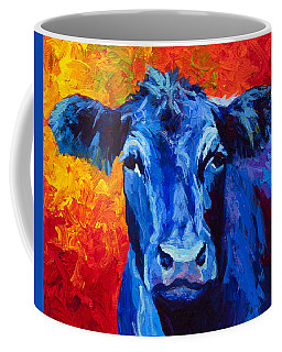Blue Cow II Coffee Mug