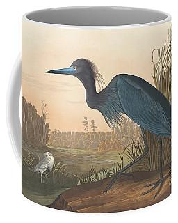 Blue Crane Or Heron Coffee Mug