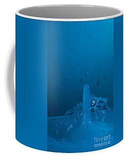 Blue Crash Coffee Mug