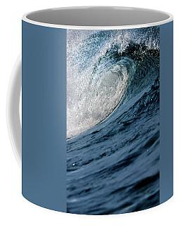 Blue Curl Coffee Mug