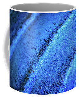 Blue Curves Coffee Mug