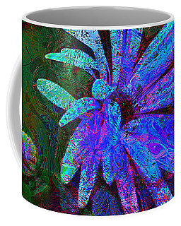 Blue Daisy Coffee Mug