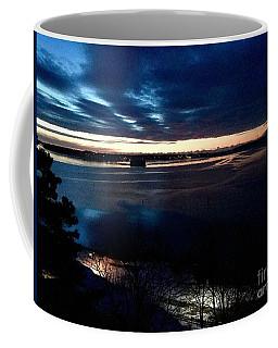 Blue Dawn On Casco Bay Coffee Mug