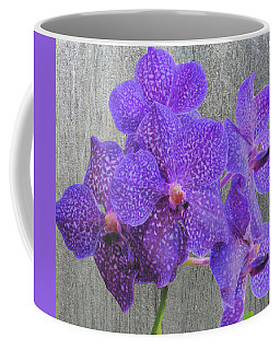 Purple Dendrobium Orchids Coffee Mug by Rosalie Scanlon