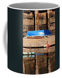 Blue Dingy Coffee Mug