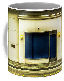 Blue Door And Windowa Coffee Mug