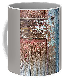 Blue Door Crackle Coffee Mug