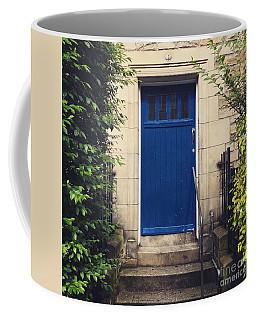 Blue Door In Ivy Coffee Mug