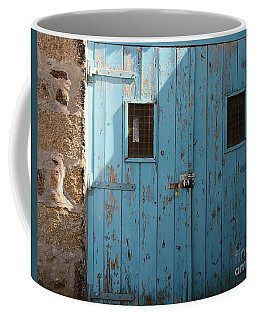Blue Doors Coffee Mug