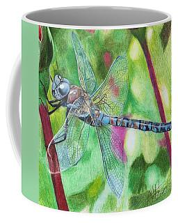 Blue Dragonfly Coffee Mug