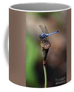 Blue Dragonfly Dancer Coffee Mug
