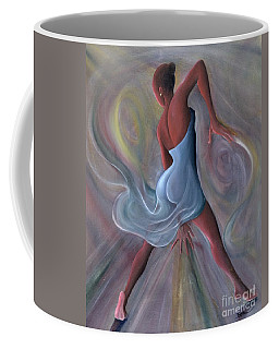 Blue Dress Coffee Mug