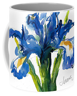 Blue Dutch Iris For Kappa Kappa Gamma Coffee Mug