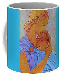 Blue Embrace Coffee Mug by Gioia Albano