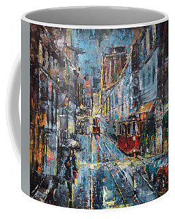Blue Evening Coffee Mug