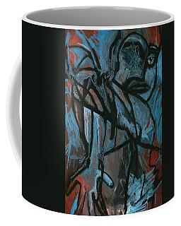 Blue Eye Blind Coffee Mug