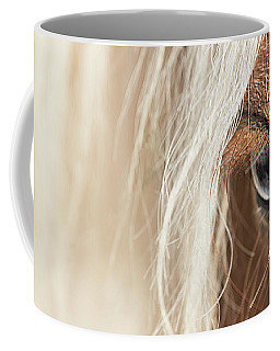 Blue Eyed Horse Coffee Mug