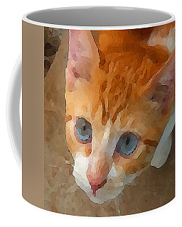 Blue Eyed Punk  Coffee Mug