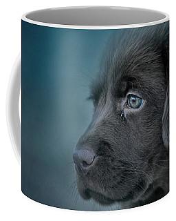 Blue Eyed Puppy Coffee Mug