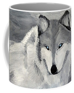 Blue Eyes Coffee Mug