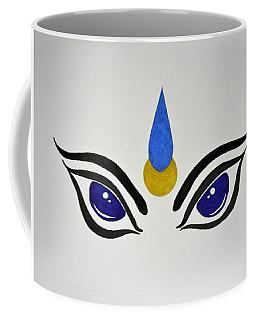 Blue Eyes Coffee Mug by Kruti Shah