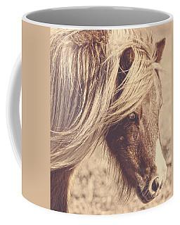 Blue Eyes Vintage Coffee Mug
