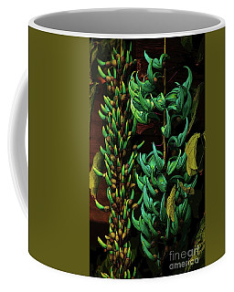 Blue Jade Vine Coffee Mug by Craig Wood