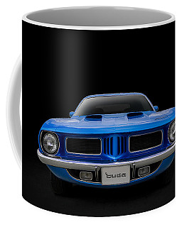 Coffee Mug featuring the digital art Blue Fish by Douglas Pittman