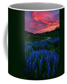 Blue Flame Coffee Mug