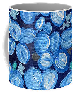 Blue Floral Frenzy Coffee Mug