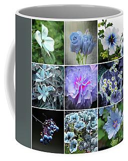 Blue Flowers All Coffee Mug