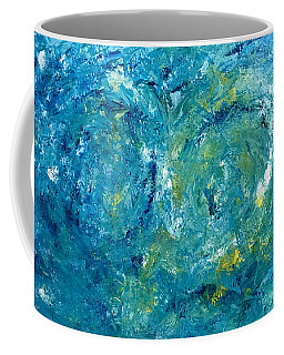 Blue Galaxy Coffee Mug by Dorothy Maier