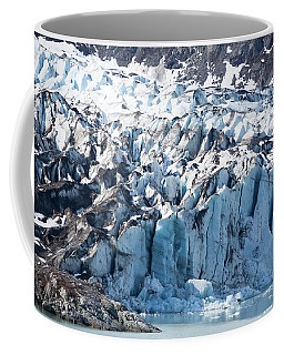 Blue Glacier Fortress Coffee Mug