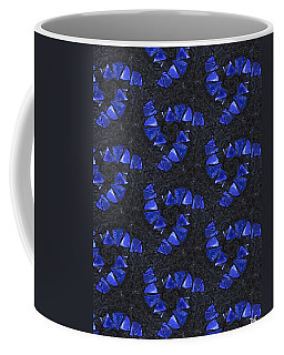 Blue Glass  Coffee Mug