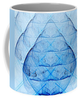 Blue Glass Coffee Mug