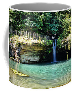 Coffee Mug featuring the photograph Blue Glory by Cricket Hackmann