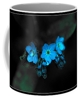 Blue Glow Coffee Mug