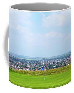 Blue Golf Flag Coffee Mug