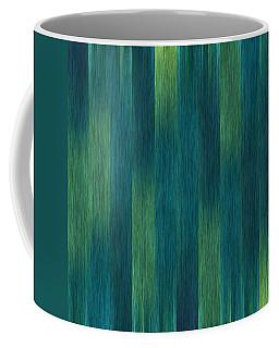 Blue Green Abstract 1 Coffee Mug