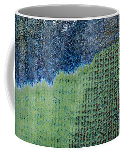 Blue/green Abstract Two Coffee Mug