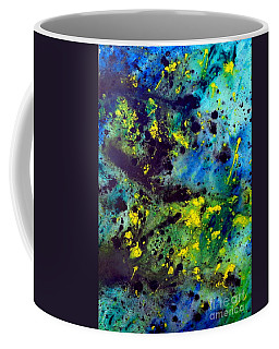 Blue Green Chaos Coffee Mug