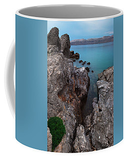 Blue, Green, Gray Coffee Mug