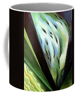 Blue Green Music Coffee Mug