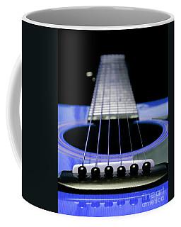 Blue Guitar 14 Coffee Mug