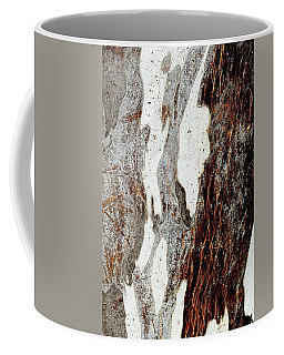 Blue Gum Bark Abstract 1 Coffee Mug