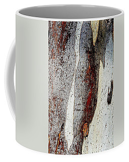 Blue Gum Bark Abstract 2 Coffee Mug
