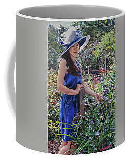 Blue Hat Girl Coffee Mug