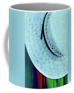 Blue Hat Painting Coffee Mug