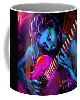 Blue Heart Coffee Mug
